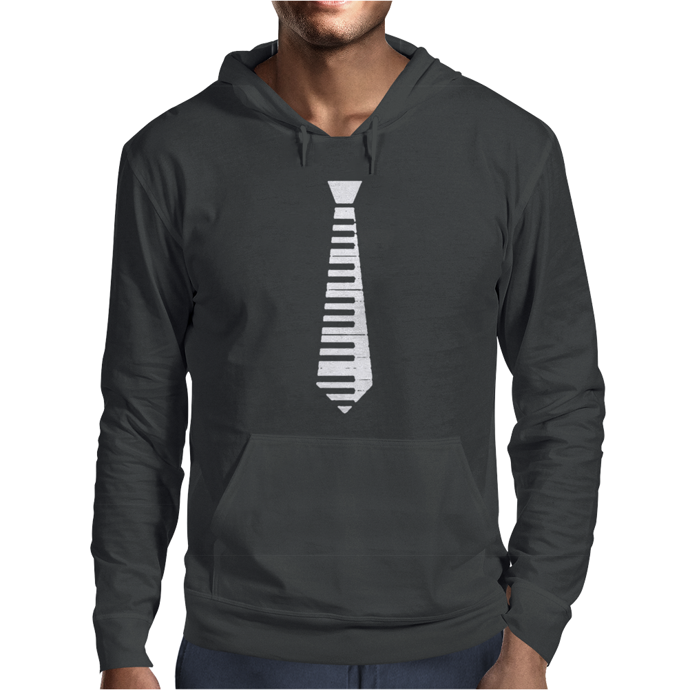 Piano Tie Classic Mens Hoodie