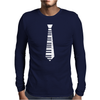 Piano Tie Classic Mens Long Sleeve T-Shirt