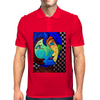 PICASSO BY NORA  2 FACES Mens Polo