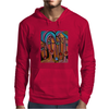 PICASSO BY NORA  FOUR EYES Mens Hoodie