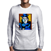 PICASSO BY NORA  MAN WITH A BALL Mens Long Sleeve T-Shirt