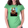 PICASSO BY NORA  PICASSO'S DAUGHTER WITH DOLL Womens Fitted T-Shirt