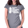 Pickles Are Cucumbers Soaked In Evil Womens Fitted T-Shirt