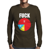 Pie Chart Funny Mens Long Sleeve T-Shirt
