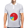 Pie Chart Funny Mens Polo