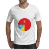 Pie Chart Funny Mens T-Shirt
