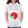 Pie Chart Funny Womens Polo