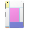 Piet Mondrian in pastel. Tablet