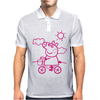 pig animal Mens Polo