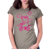 pig animal Womens Fitted T-Shirt