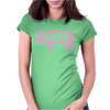 Pig Oink Funny Womens Fitted T-Shirt