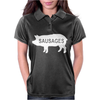 Pig Sausages Funny Womens Polo