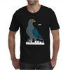 Pigeon Zilla Vs London Mens T-Shirt