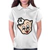 Piggly Wiggly Mascot Womens Polo