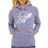 Pigs Do Fly Womens Hoodie