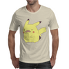 Pikachu Moustache Mens T-Shirt