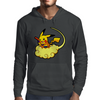 Pikagoku parody dragon ball z - pokemon Mens Hoodie