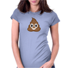 Pile of poop emoji Womens Fitted T-Shirt
