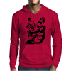Pin Up Horror Mens Hoodie