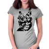 Pin Up Horror Womens Fitted T-Shirt