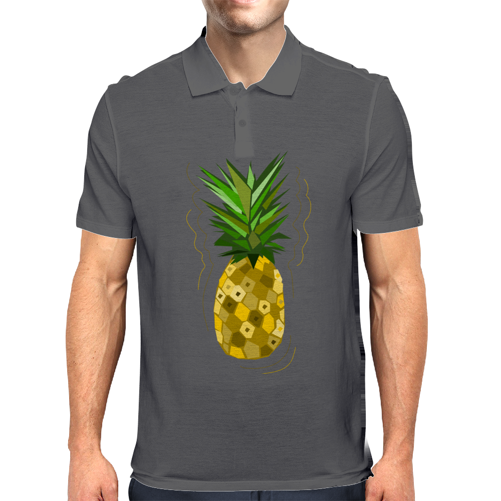 Pineapple Paradise Mens Polo