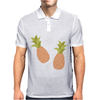 Pineapple pattern Mens Polo