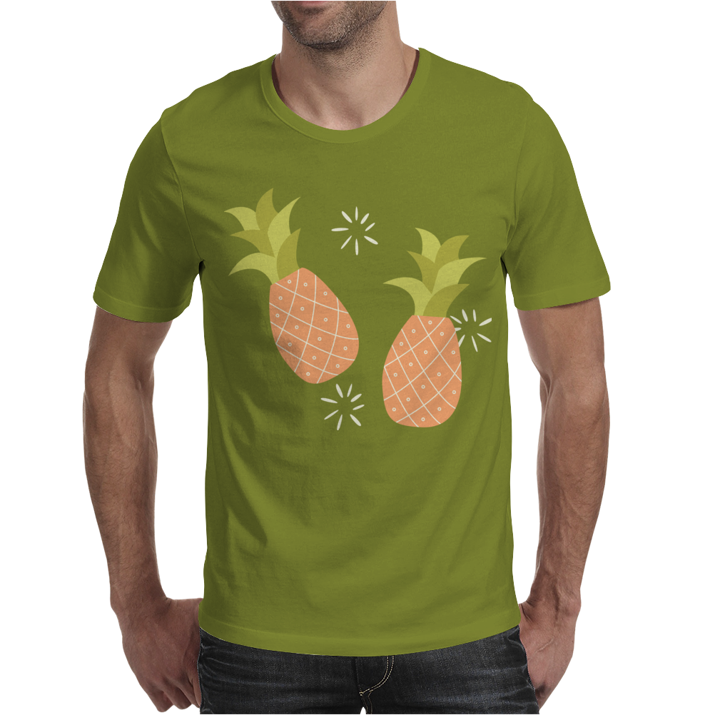 Pineapple pattern Mens T-Shirt