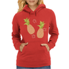 Pineapple pattern Womens Hoodie