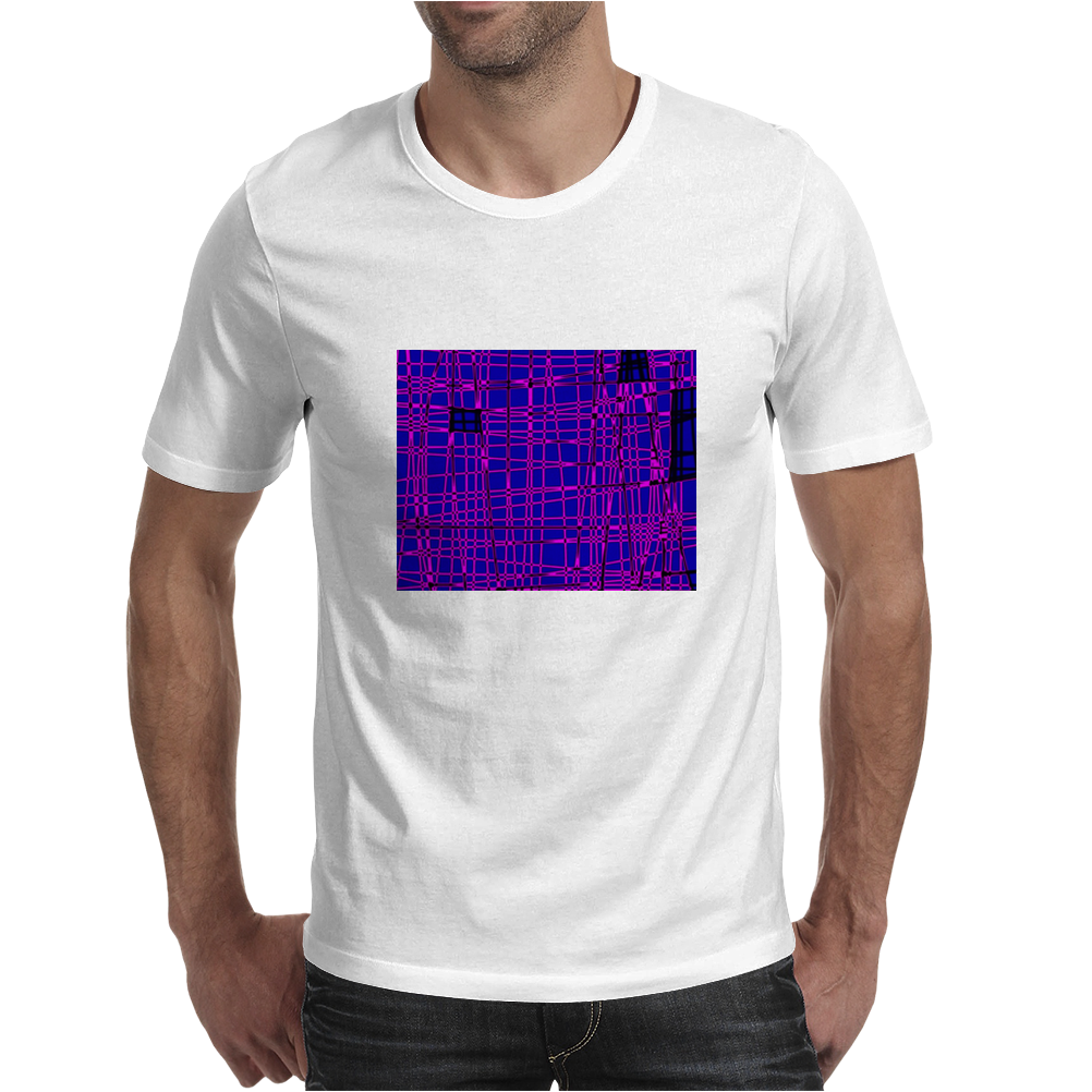 Pink City Mens T-Shirt
