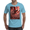 Pink Conch Shell Fractal Mens T-Shirt