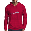 pink dolphin from amazonas Mens Hoodie