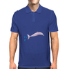pink dolphin from amazonas Mens Polo