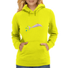 pink dolphin from amazonas Womens Hoodie