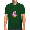 Pink haired girl Mens Polo