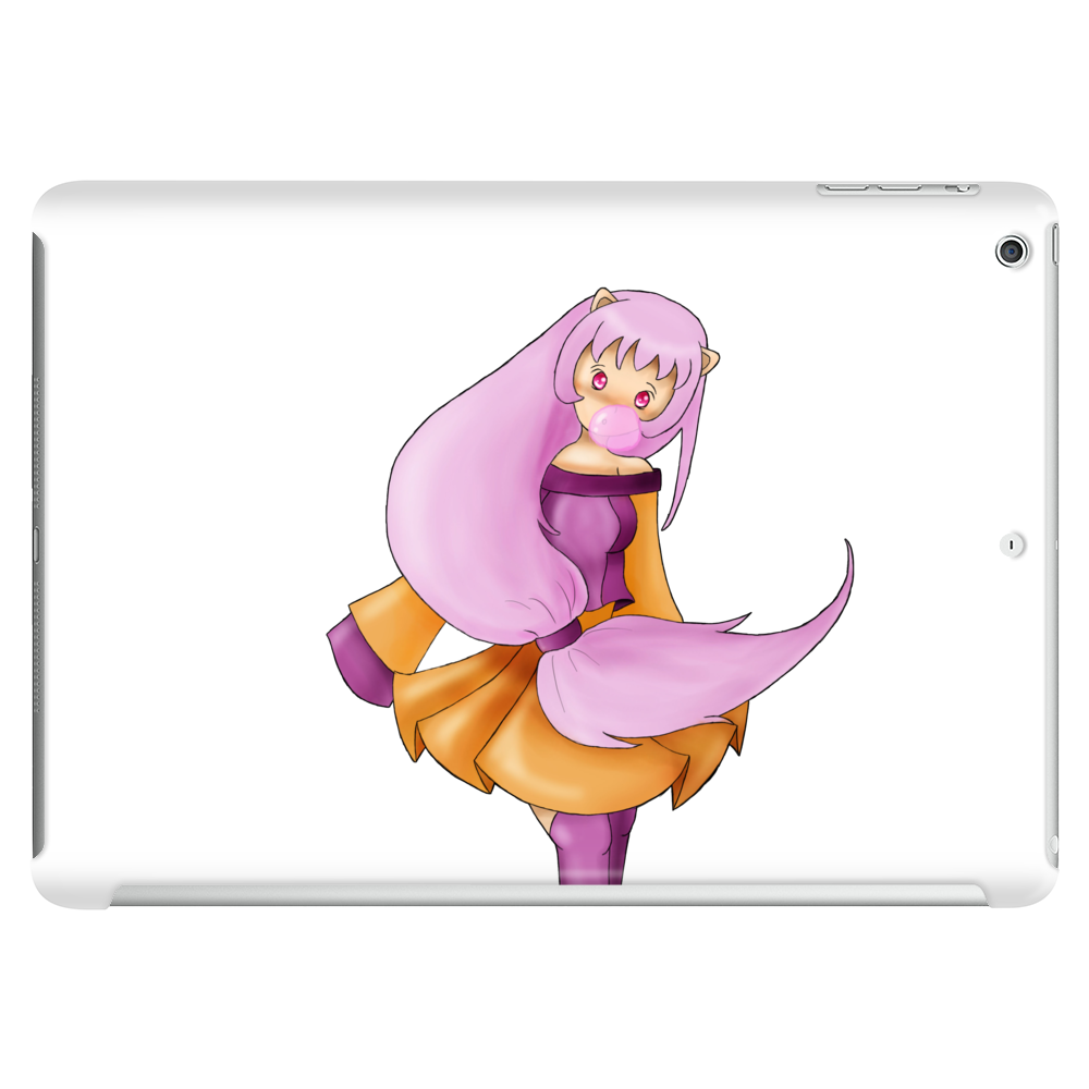 Pink haired girl Tablet (horizontal)