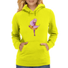 Pink haired girl Womens Hoodie
