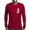 Pink little Panther Mens Long Sleeve T-Shirt