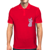 Pink little Panther Mens Polo