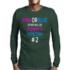 Pink or blue Mommy is expecting number 2 new Mens Long Sleeve T-Shirt