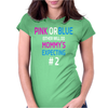 Pink or blue Mommy is expecting number 2 new Womens Fitted T-Shirt