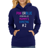 Pink or blue Mommy is expecting number 2 new Womens Hoodie