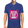 Pink Owl Mens Polo
