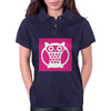 Pink Owl Womens Polo