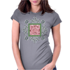 Pink Princess Diamond Womens Fitted T-Shirt