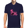 PINK PSYCHOANALYSIS Mens Polo