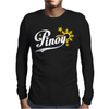 Pinoy Philippines star & sun Mens Long Sleeve T-Shirt