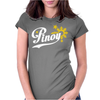 Pinoy Philippines star & sun Womens Fitted T-Shirt