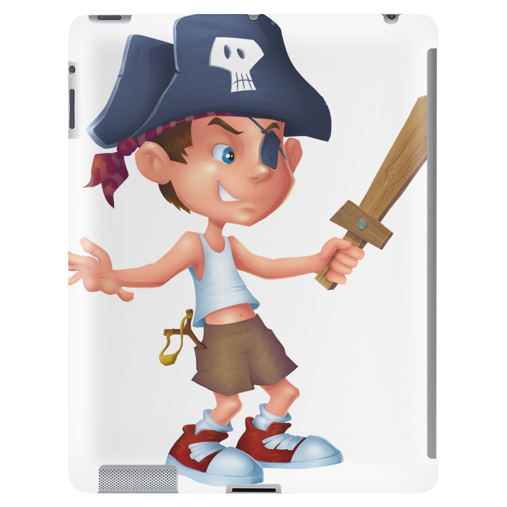Pirate Boy Tablet (vertical)