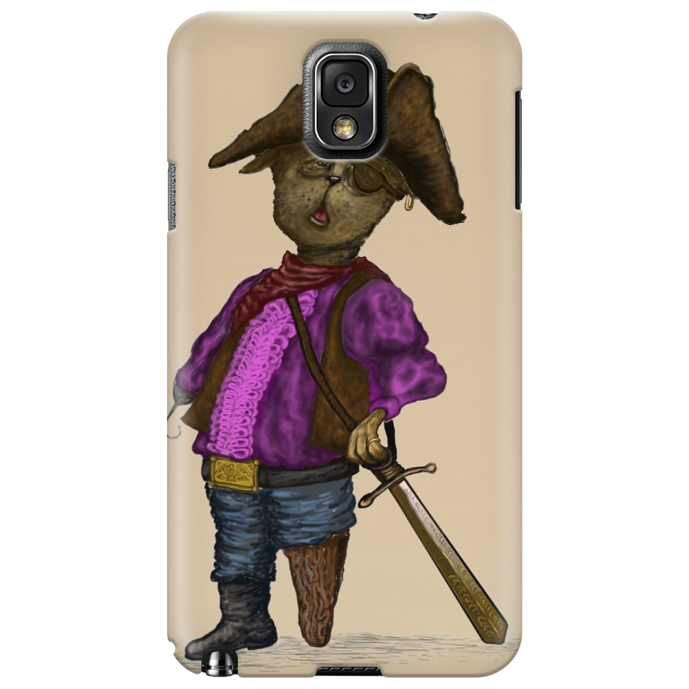 Pirate Kitty  cell Phone Case