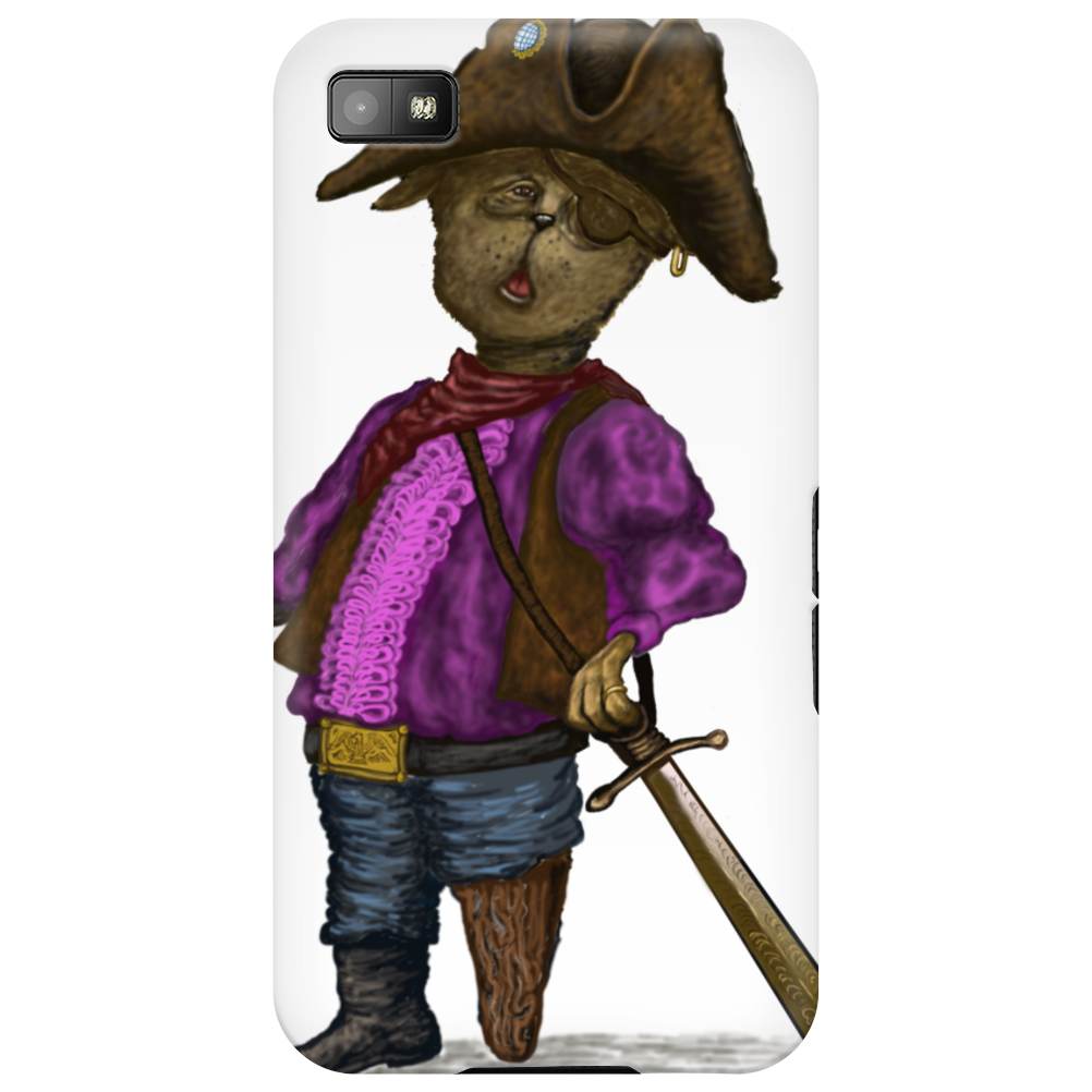 Pirate Kitty  t-shirt Phone Case